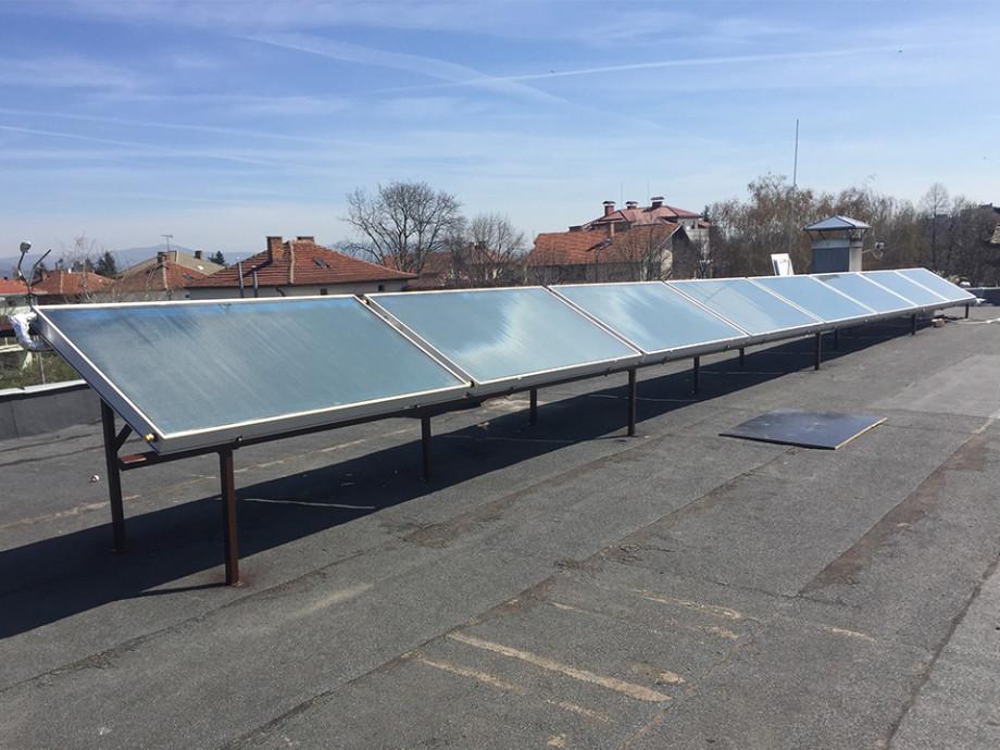 Соларна система за топла вода със селективни колектори FPS на АПЕКС СОЛАР