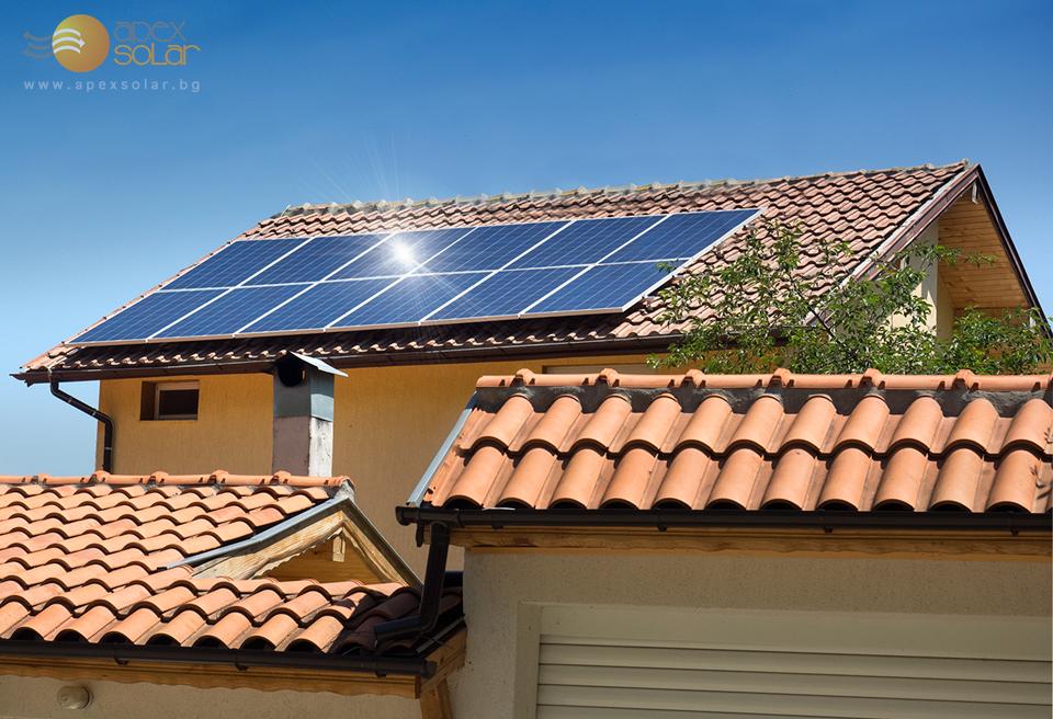 Соларна система за ток за намаляване на сметката на домакинство