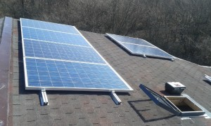 соларна система с панели за ток