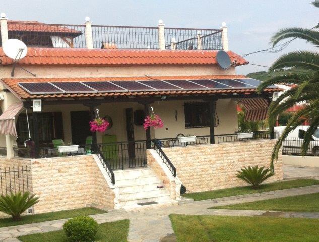 соларна система за захранване на къща