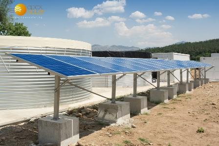 Соларна помпена система във Вършец