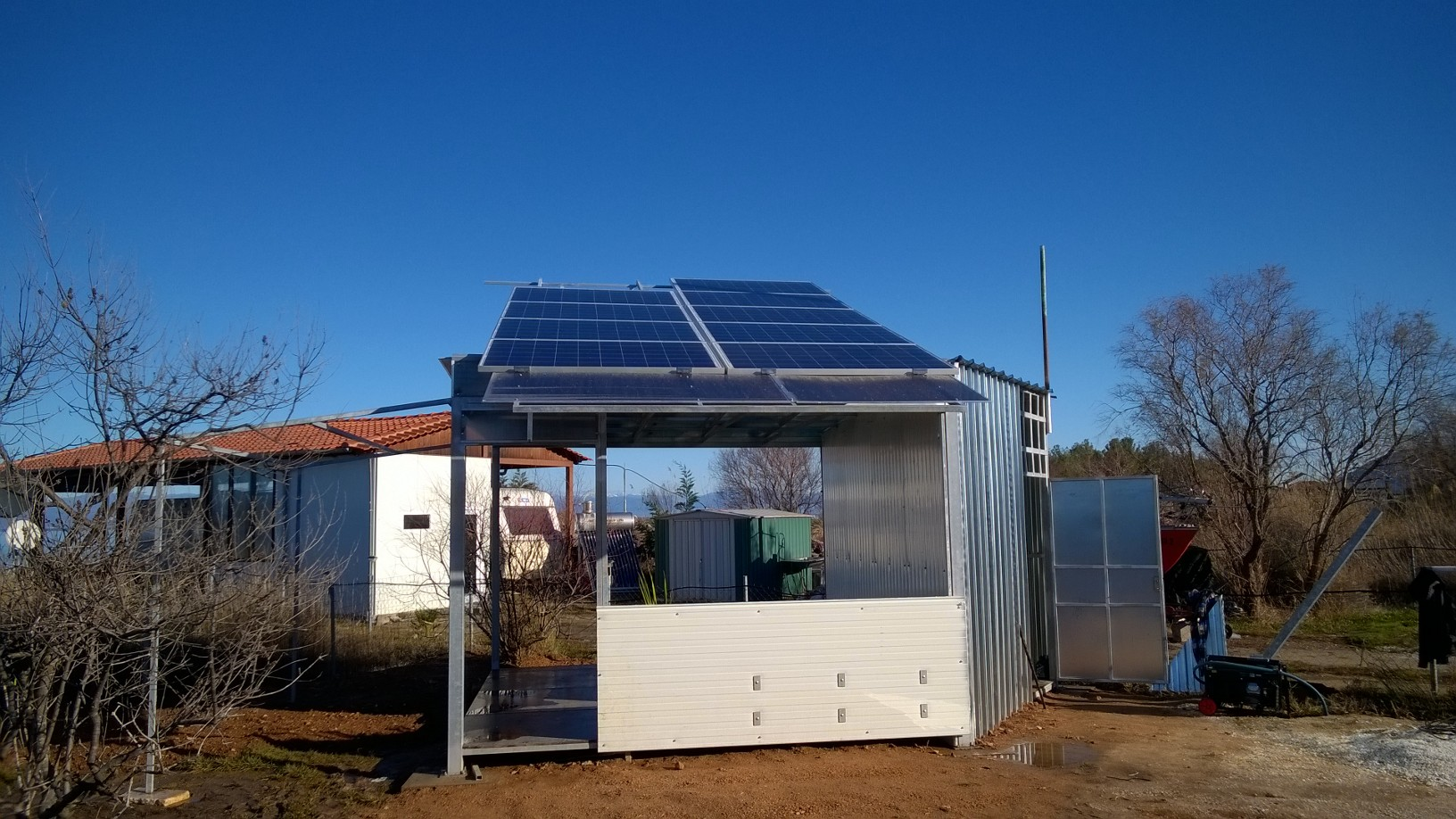 4 kW автономна система на Тасос